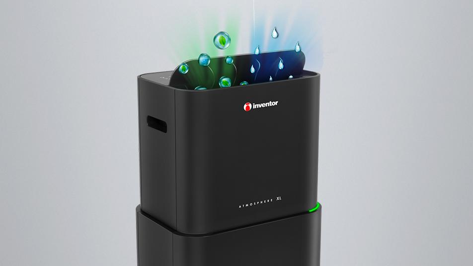 Inventor Atmosphere 25L Dehumidifier & Air Purifier top