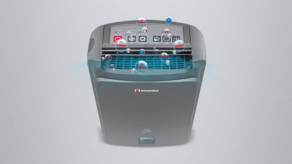 Inventor Appliances Desiccant Dehumidifier