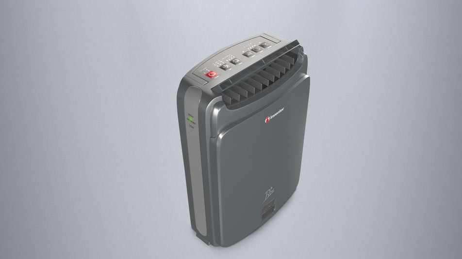 Inventor Desiccant Dehumidifier without compressor.