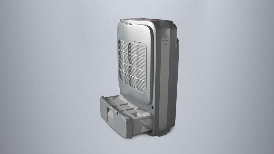 Desiccant Dehumidifier 8L without compressor.