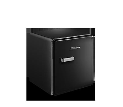 Retro Mini Bar Refrigerator (47L)
