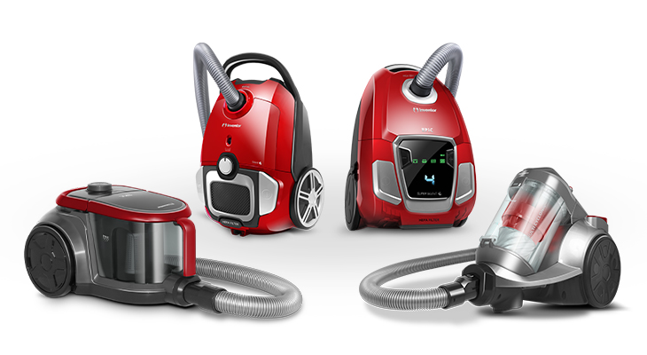 New EPIC Serie Vacuum Cleaners